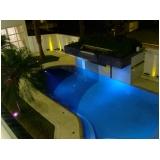 iluminação para piscina led valor Minas Gerais